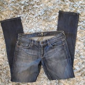 7 For All Mankind  Edie Straight Leg Jeans…